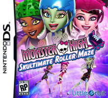 6113 - Monster High Skultimate Roller Maze (EU)