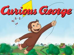 Curious George and Franklin 4 books (mp3)